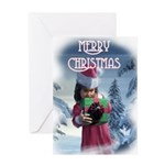 Frost Child Christmas Card