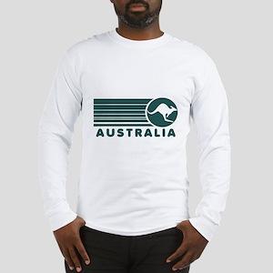 Australia Vintage Stripes Long Sleeve T-Shirt