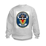 USS Richmond K. Turner (CG 20 Kids Sweatshirt