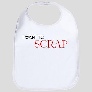 I want to Scrap Bib