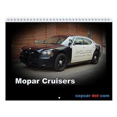 Mopar Cruisers Wall Calendar