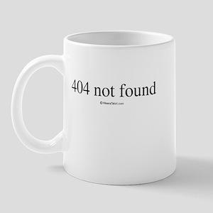 404 not found ~  Mug