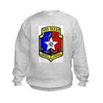 USS Texas (CGN 39) Kids Sweatshirt