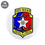 "USS Texas (CGN 39) 3.5"" Button (10 pack)"