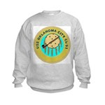 USS Oklahoma City (CL 91) Kids Sweatshirt