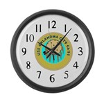 USS Oklahoma City (CL 91) Large Wall Clock