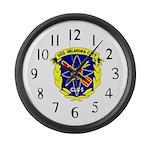 USS Oklahoma City (CLG 5) Large Wall Clock