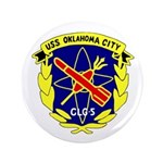 """USS Oklahoma City (CLG 5) 3.5"""" Button (100 pack)"""