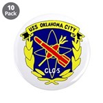 """USS Oklahoma City (CLG 5) 3.5"""" Button (10 pack)"""