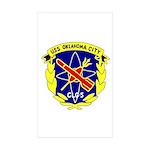 USS Oklahoma City (CLG 5) Rectangle Sticker 50 pk