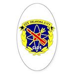 USS Oklahoma City (CLG 5) Oval Sticker (50 pk)