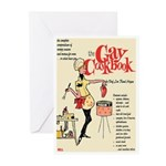 """Greeting (10)-""""The Gay Cookbook"""""""