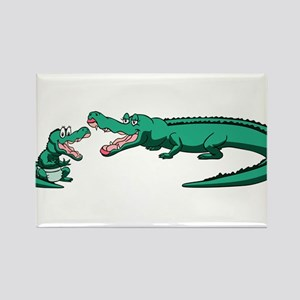 Gators Rectangle Magnet