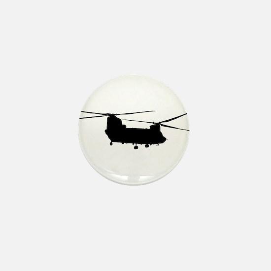 Cute Chinook Mini Button