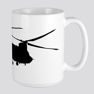 CH-47 Chinook on light Mugs