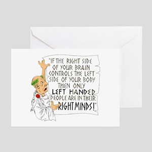 If the RIGHT side of your bra Greeting Cards (Pk o