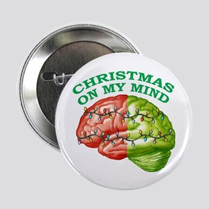 Christmas/Mind Button