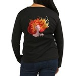 Elemental Fire Women's Long Sleeve Dark T-Shirt
