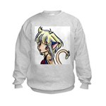 Anime Art on a Kids Sweatshirt