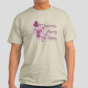 Martial Arts Girl Light T-Shirt