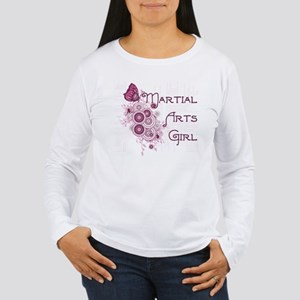 Martial Arts Girl Women's Long Sleeve T-Shirt