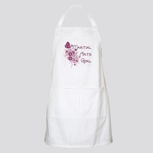 Martial Arts Girl Apron