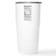 Breastmilk Nutrition Labels Stainless Steel Travel