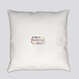 Languages of the world - thank you Everyday Pillow