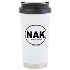 NAK- Nursing at Keyboard Stainless Steel Travel Mu