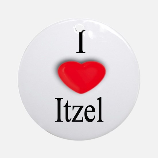 Itzel Ornament (Round)