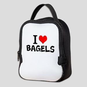 I Love Bagels Neoprene Lunch Bag