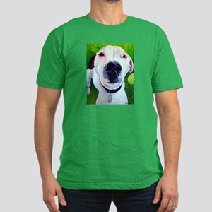 Jack Russell Nose Best Men's Fitted T-Shirt (dark)