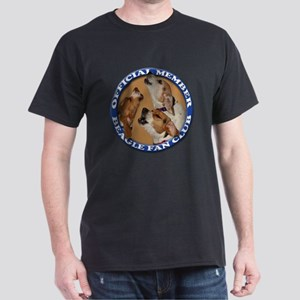 Beagle Fan Club (3) Dark T-Shirt