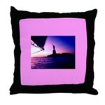 Statue of Liberty New York City Throw Pillow