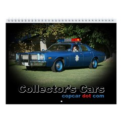 Collector's Cars Wall Calendar