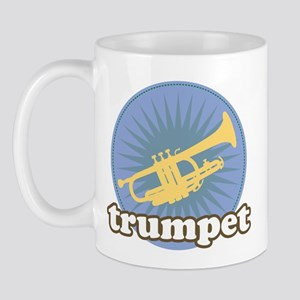 Trumpet Burst Music Mug