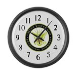 US Navy Recruiting Command Large Wall Clock