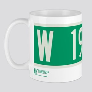 West 199th Street in NY Mug