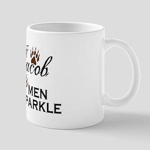 Team Jacob No Sparkle Mug