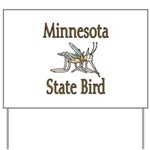 Minnesota State Bird Yard Sign