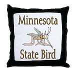 Minnesota State Bird Throw Pillow