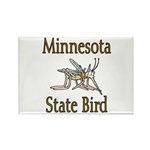 Minnesota State Bird Rectangle Magnet (10 pack)