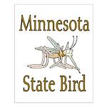 Minnesota State Bird Small Poster
