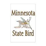 Minnesota State Bird Mini Poster Print