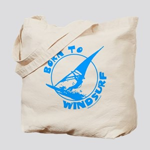 BORN TO WINDSURF Tote Bag
