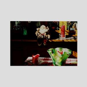 Santa - Rectangle Magnet