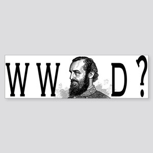 What Would Jackson Do? Sticker (Bumper)