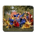 Shaolin Temple Monks Mousepad
