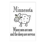 Minnesota Sheep Postcards (Package of 8)