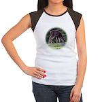 Little Fawn Women's Cap Sleeve T-Shirt